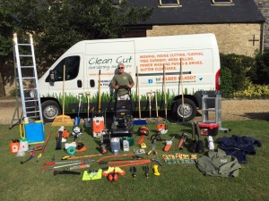 Clean cut discovery day for Gardening tools uckfield